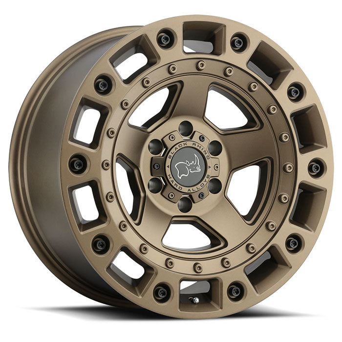 Black Rhino Cinco Bronze with Black Bolts Finish Off Road Wheels