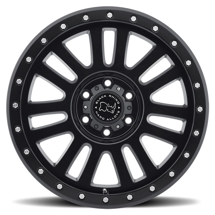Black Rhino El Cajon Wheels - Matte Black Finish