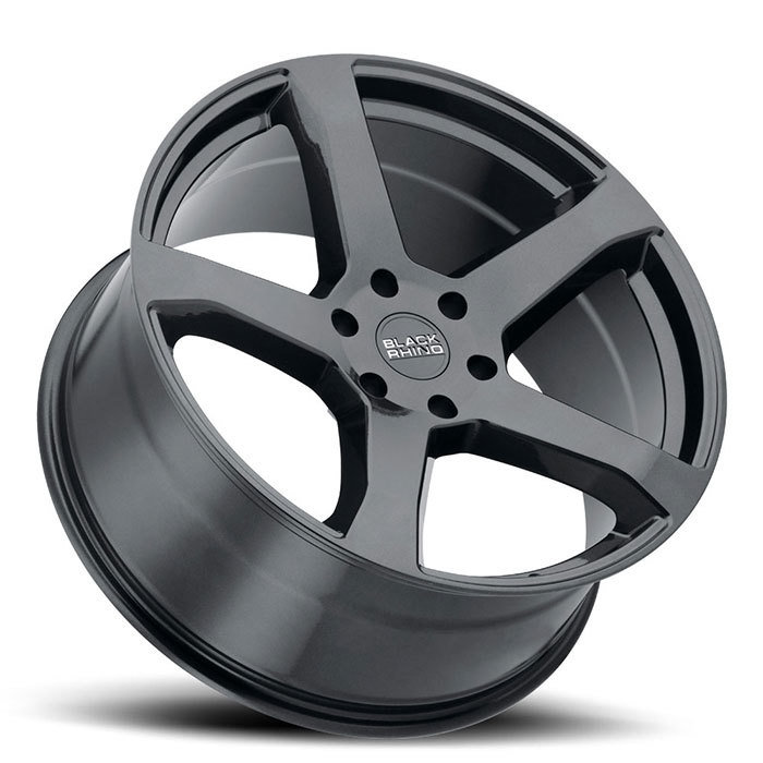 Black Rhino Faro Metallic Black Finish Truck Wheels
