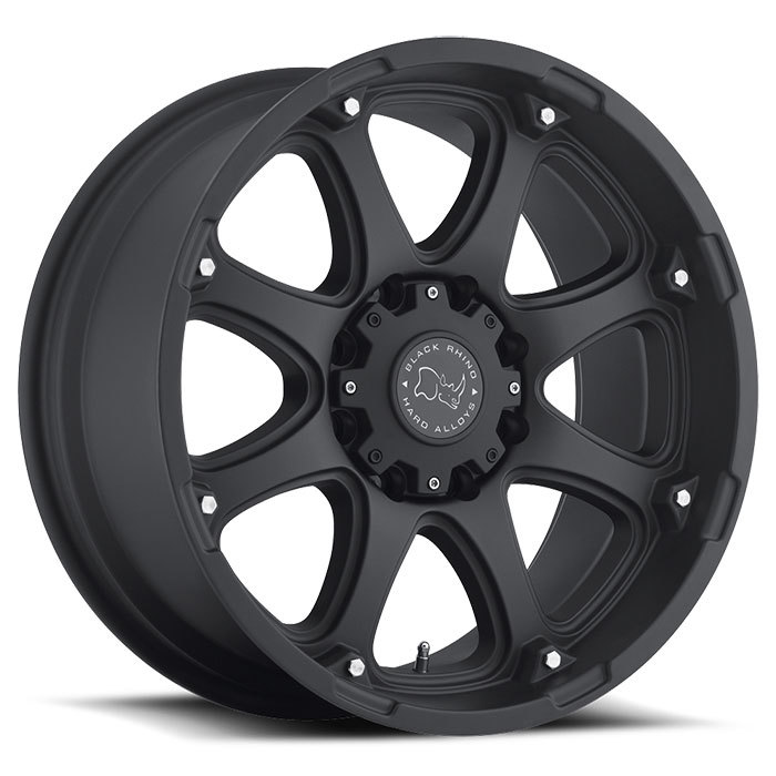 Black Rhino Glamis Matte Black Off Road Wheels - Standard