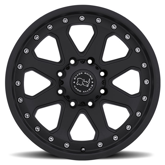 Black Rhino Imperial Matte Black Off Road Wheels - Face
