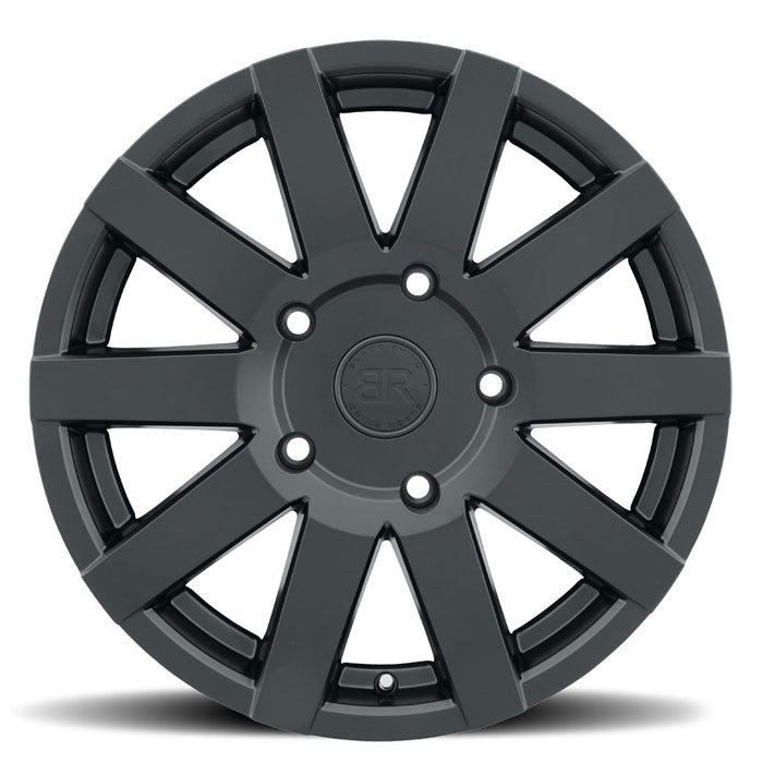 Black Rhino Journey Matte Black Finish Truck Wheels