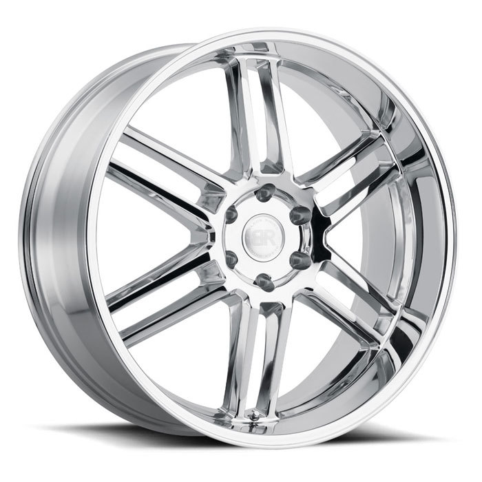 Black Rhino Katavi Chrome Finish Truck Wheels