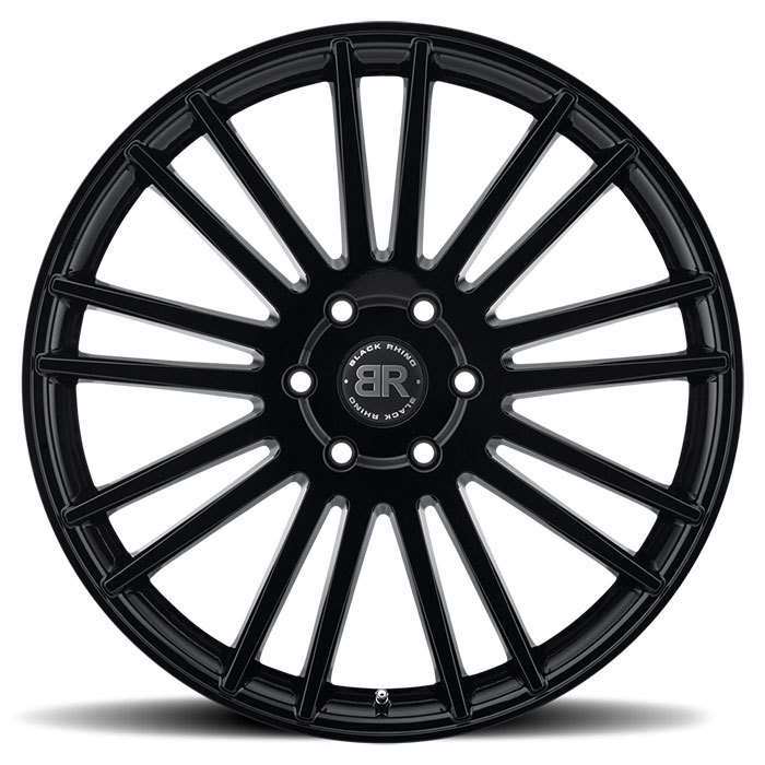 Black Rhino Kruger Gloss Black Finish Truck Wheels