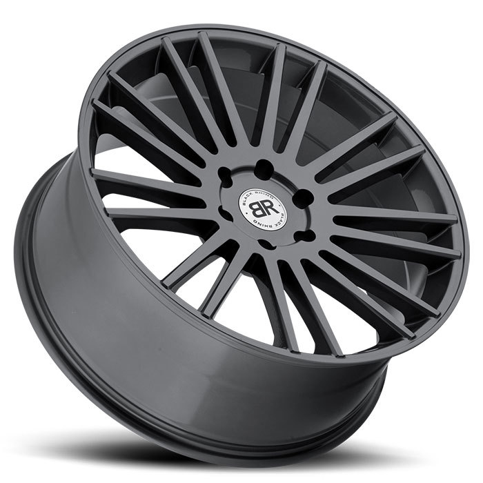 Black Rhino Kruger Gloss Gunmetal Finish Truck Wheels
