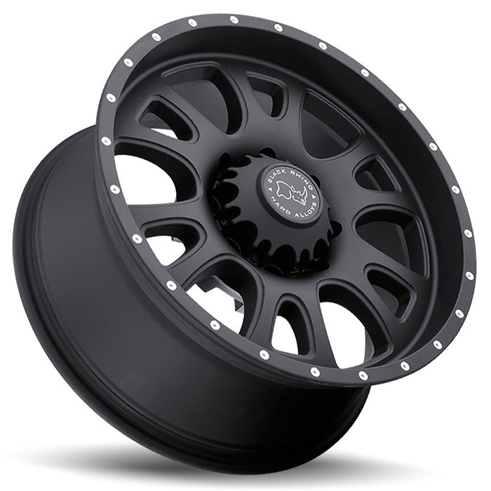 Black Rhino Lucerne Matte Black Off Road Wheels - Lay