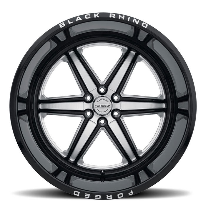 Black Rhino Marauder Forged Monoblock Wheels Gloss Black with Milled Spokes Finish