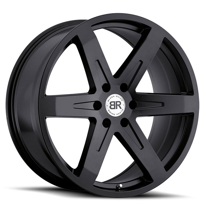 Black Rhino Peak Matte Black Truck Wheels - Standard