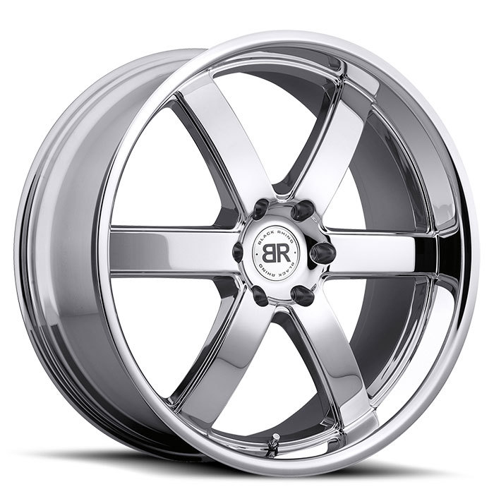Black Rhino Pondora Chrome Truck Wheels - Standard
