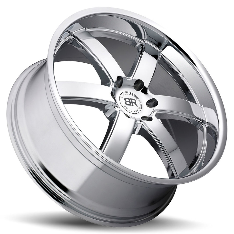 Black Rhino Pondora Chrome Truck Wheels - Lay