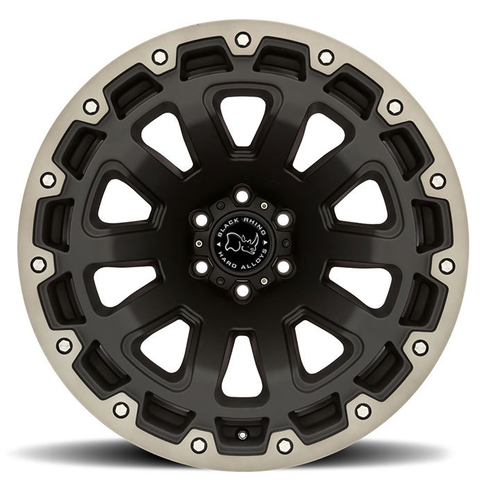 Black Rhino Razorback Off Road Wheels
