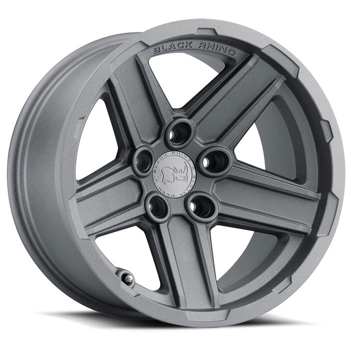 Black Rhino Recon Wheels Textured Gunmetal Finish