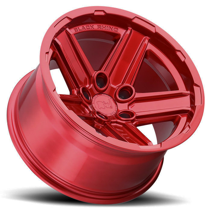 Black Rhino Recon Wheels Candy Red Finish