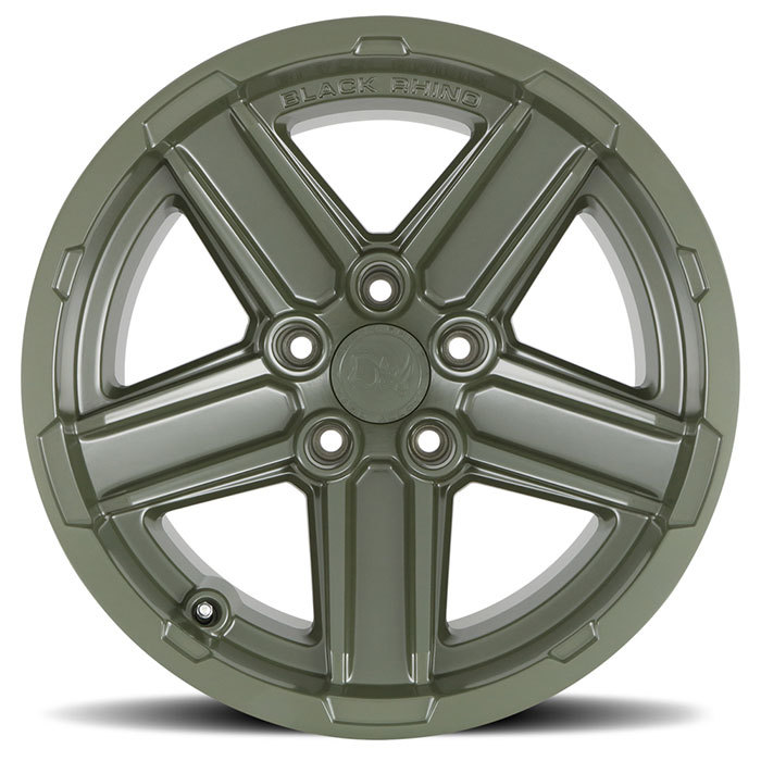 Black Rhino Recon Wheels OD Green Finish