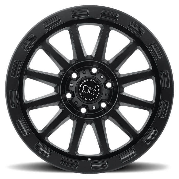 Black Rhino Revolution Matte Black Finish Off Road Wheels