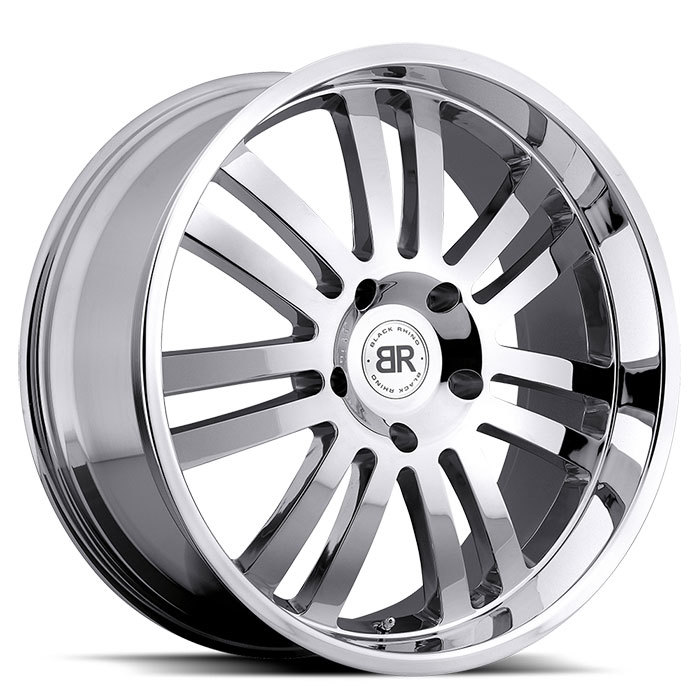 Black Rhino Robberg Chrome Truck Wheels - Standard