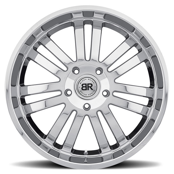 Black Rhino Robberg Chrome Truck Wheels - Face