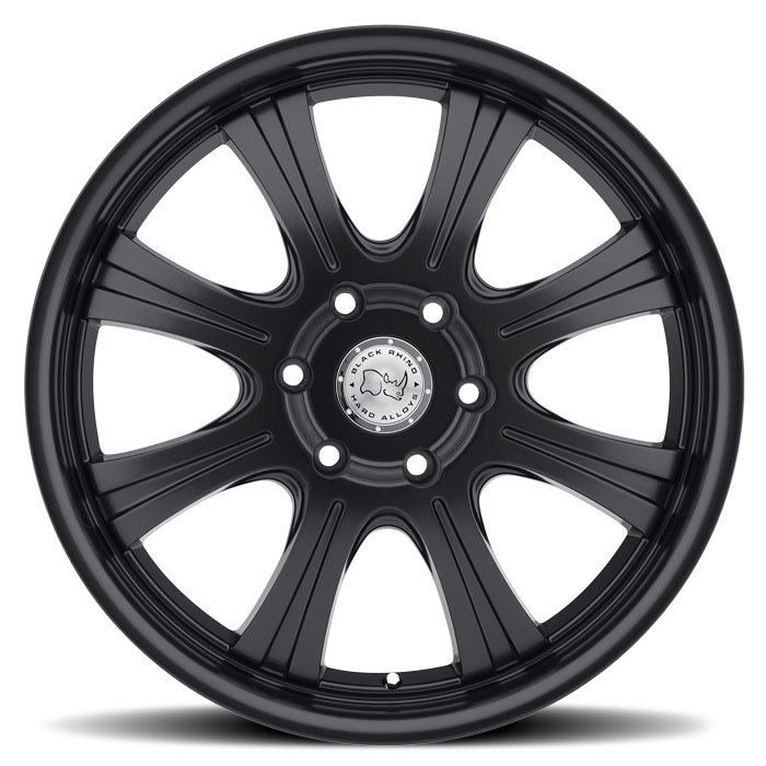 Black Rhino Sabi Matte Black Truck Wheels - Face