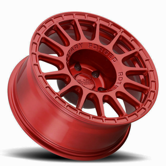 Black Rhino Sandstorm Wheels Candy Red Finish