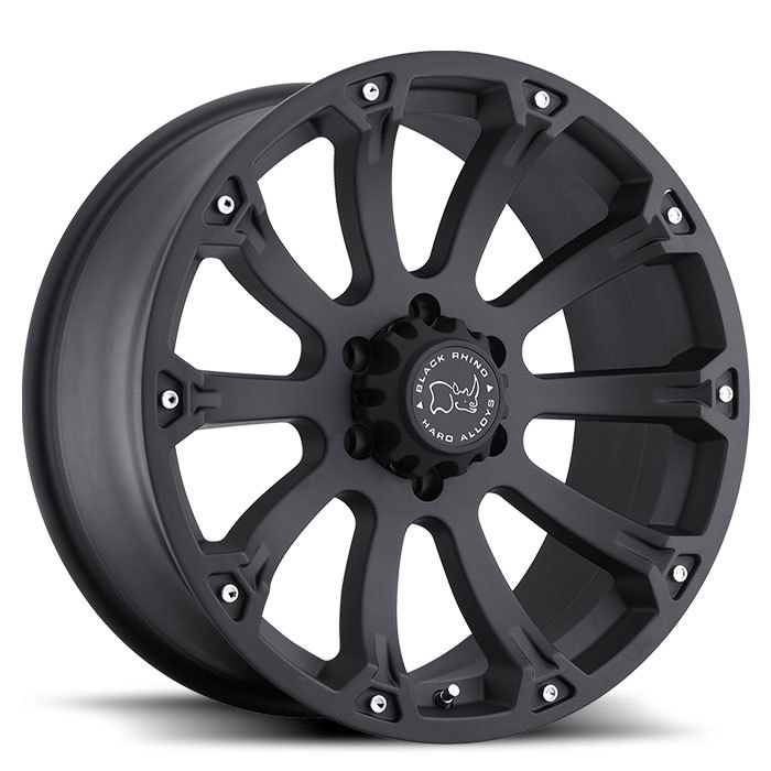 Black Rhino Sidewinder Matte Black Off Road Wheels - Standard
