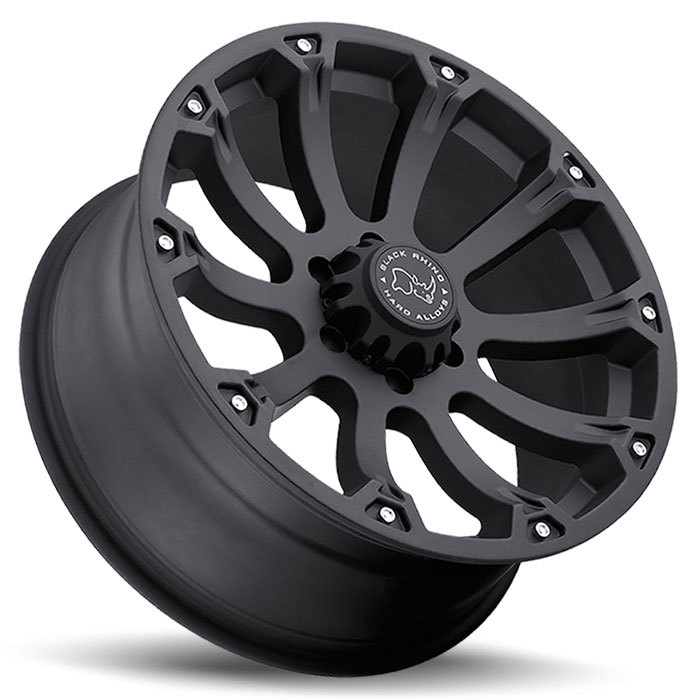 Black Rhino Sidewinder Matte Black Off Road Wheels - Lay
