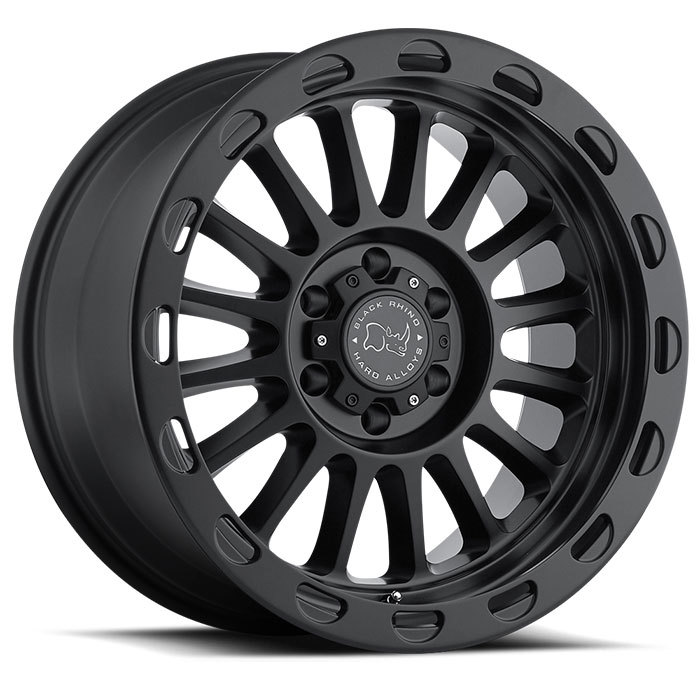 Black Rhino Taupo Matte Black Finish Truck Wheels