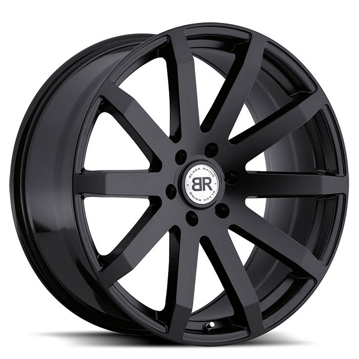 Black Rhino Traverse Matte Black Truck Wheels - Standard