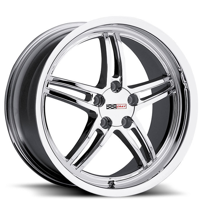 Cray Scorpion Chrome Corvette Wheels - Standard