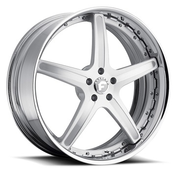 Forgiato Aggio-B Brushed Finish Wheels