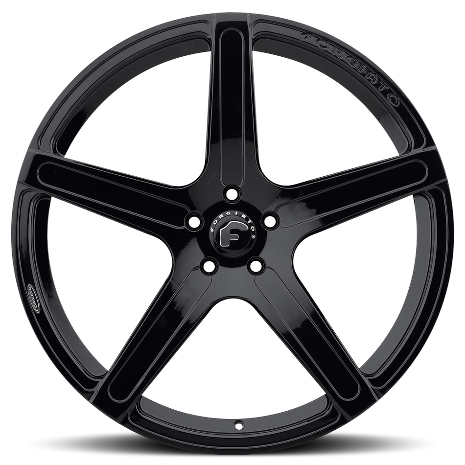 Forgiato Aggio-M Black Finish Wheels