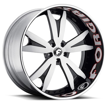 Forgiato Agguzo-B Custom Finish Wheels