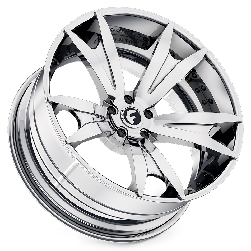 Forgiato Aguzzo-ECL Chrome Finish Wheels