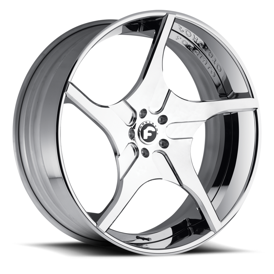 Forgiato Alluso-ECL Chrome Finish Wheels