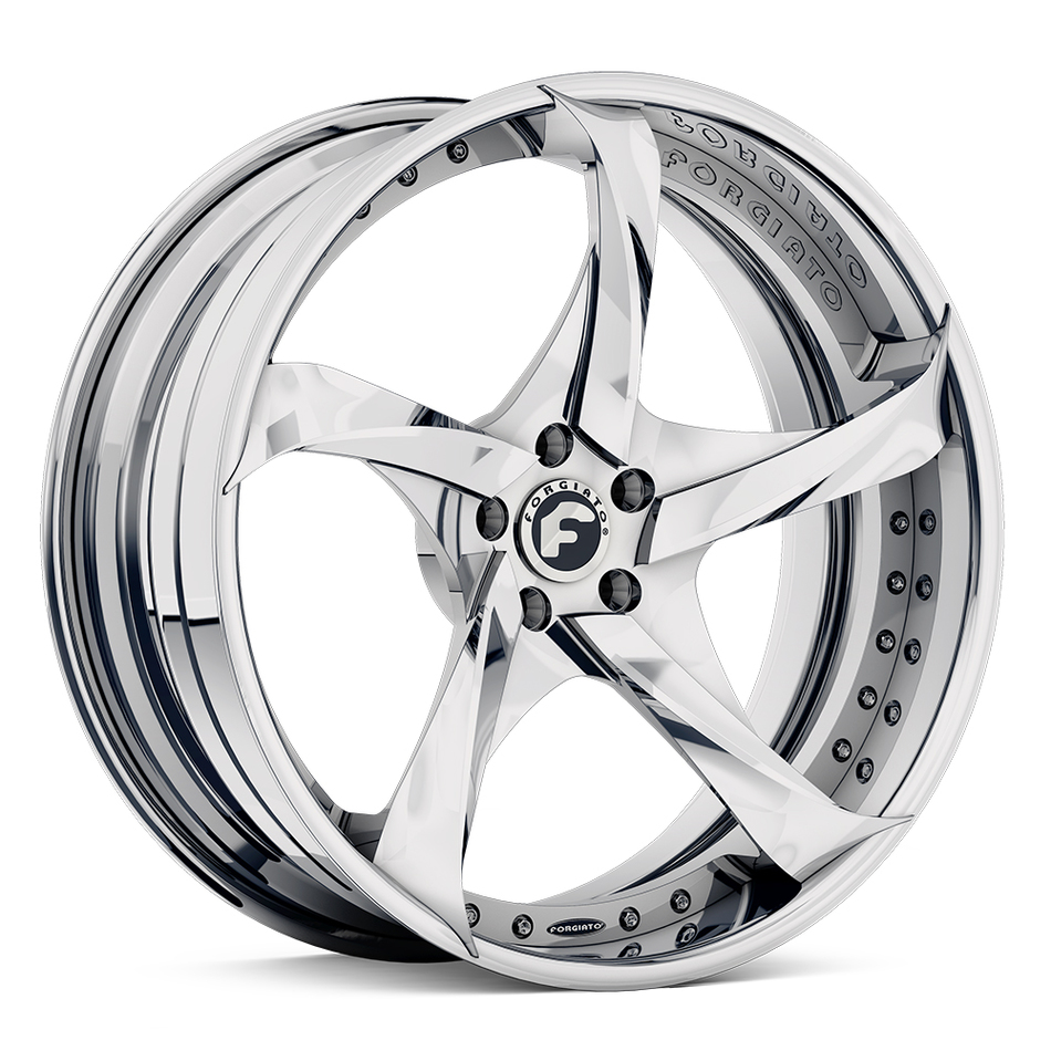 Forgiato Appuntito-ECL Chrome Finish Wheels