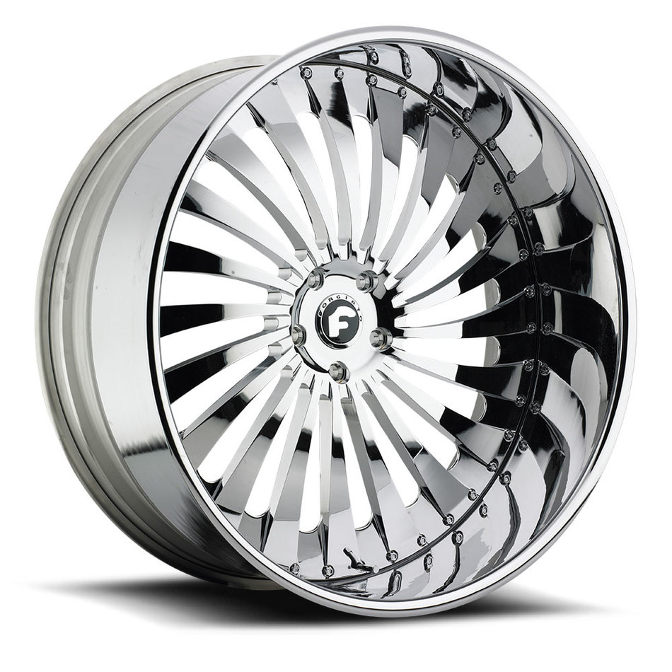 Forgiato Autonomo-L Chrome Finish Wheels