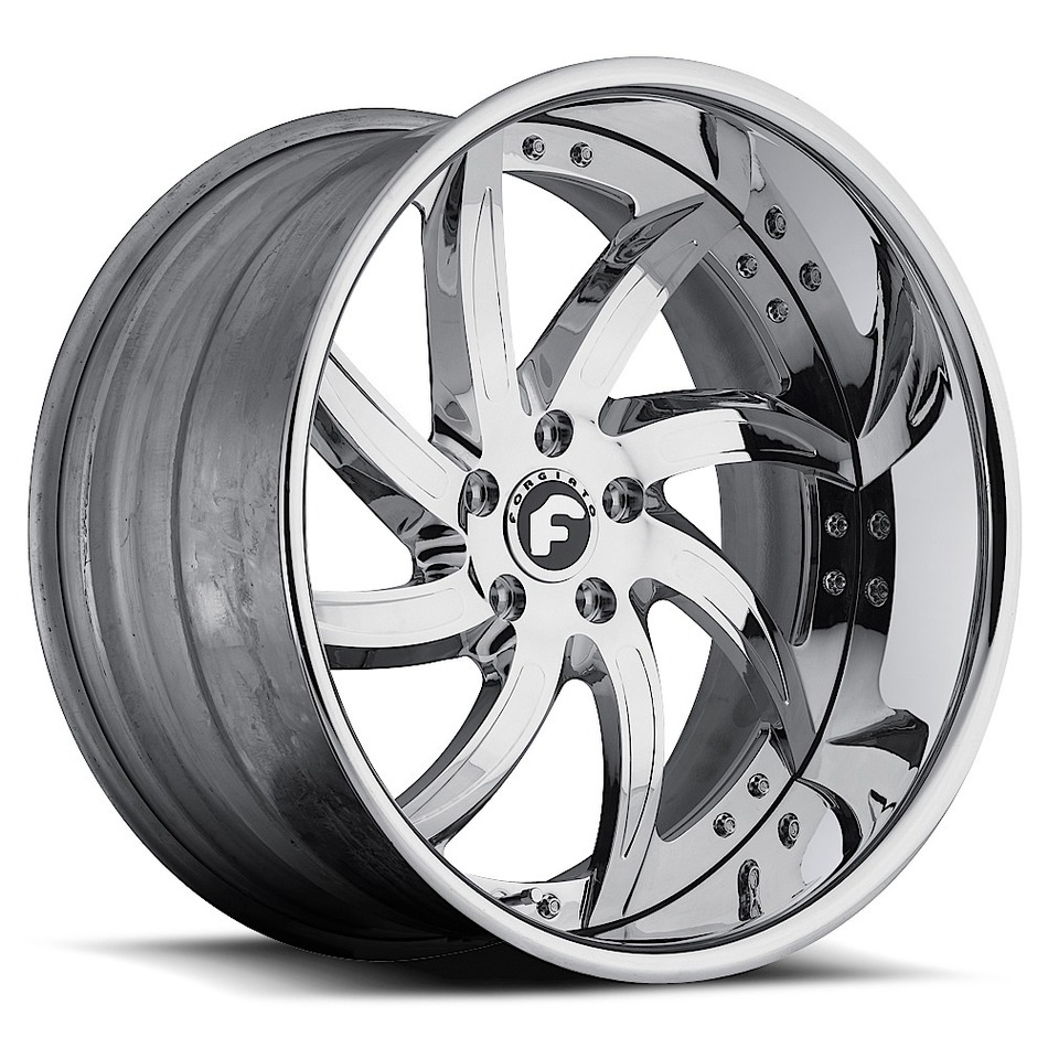 Forgiato Azioni Chrome Finish Wheels