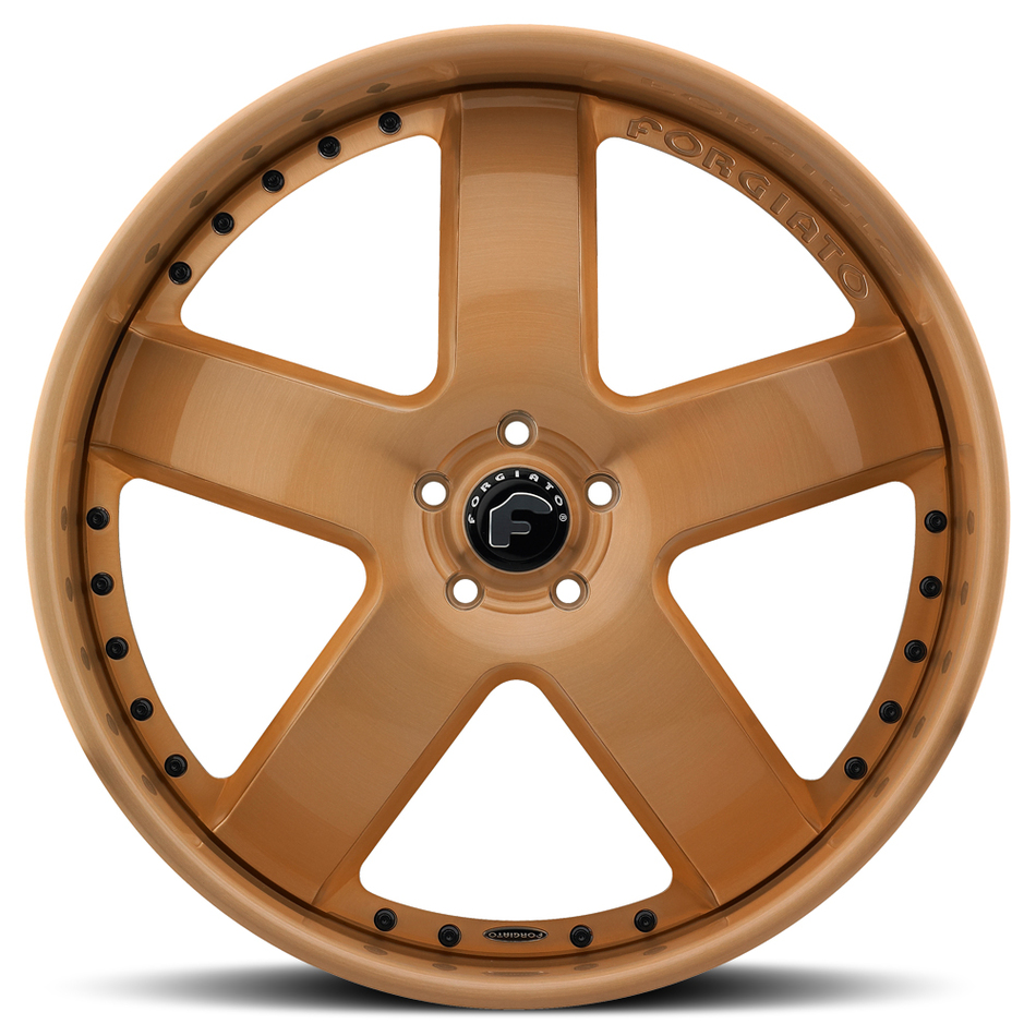 Forgiato Barra Copper Finish Wheels