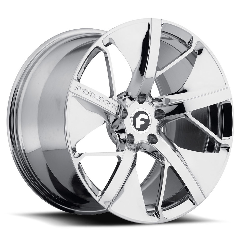 Forgiato Basso-M Chrome Finish Wheels