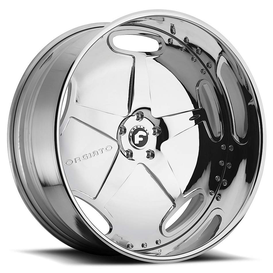 Forgiato Borsa-L Chrome Finish Wheels