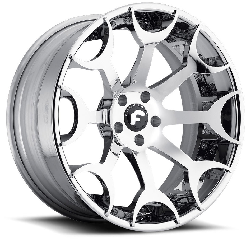 Forgiato Capolavaro-ECL Chrome Finish Wheels