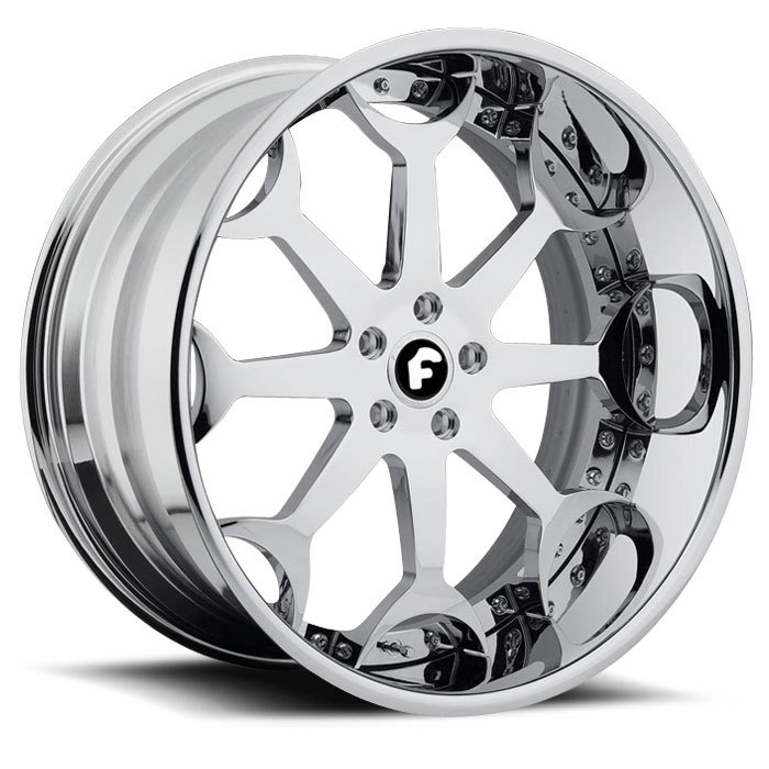 Forgiato Capolavaro Chrome Finish Wheels