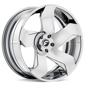 Forgiato Certo-ECL Chrome Finish Wheels