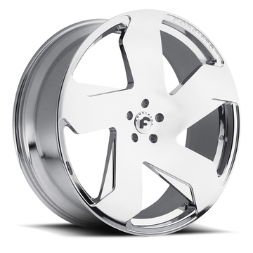 Forgiato Certo-M Chrome Finish Wheels