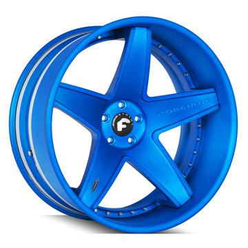 Forgiato Classico-ECL Matte Blue Finish Wheels