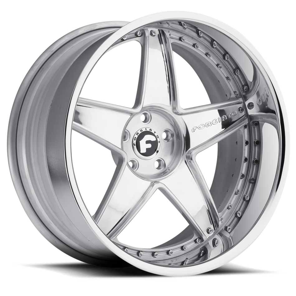 Forgiato Classico Chrome Finish Wheels