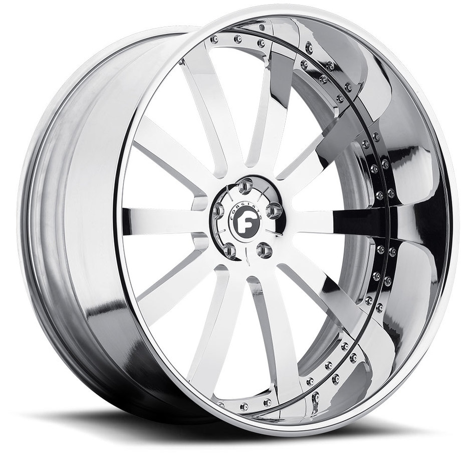 Forgiato Concavo Chrome Finish Wheels