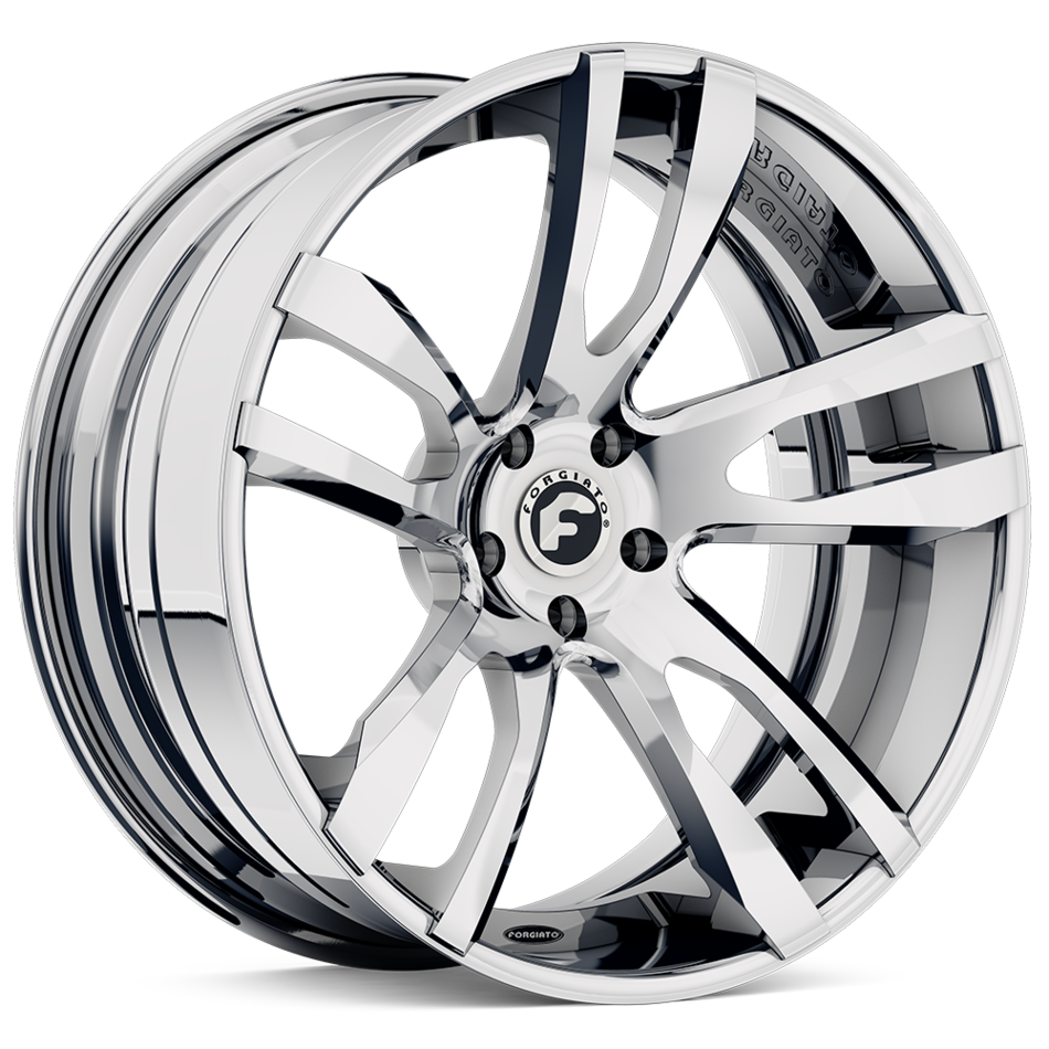 Forgiato Diapason-ECL Chrome Finish Wheels