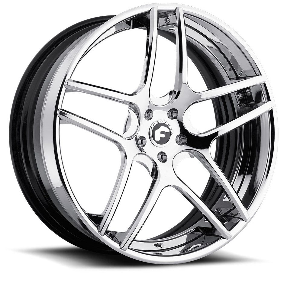 Forgiato Dieci-ECL Chrome Finish Wheels