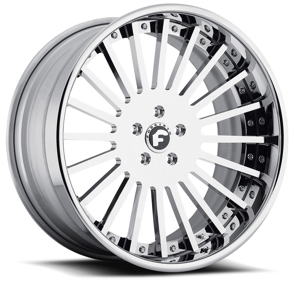 Forgiato Disegno Chrome Finish Wheels