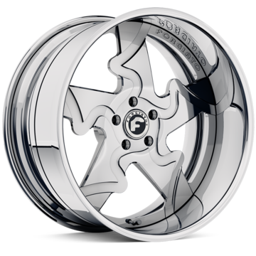 Forgiato Divinita-L Chrome Finish Wheels